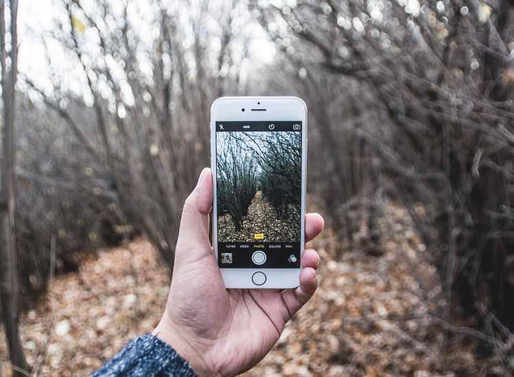 Photo shot mobile camera iphone